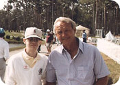 George Lee and Arnold Palmer